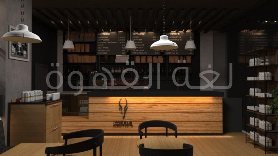 ديكور مقهي حديث