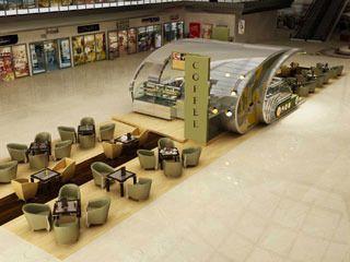 الأكشاك الداخلية / Coffee Kiosks