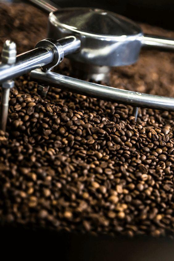 تحميص القهوة