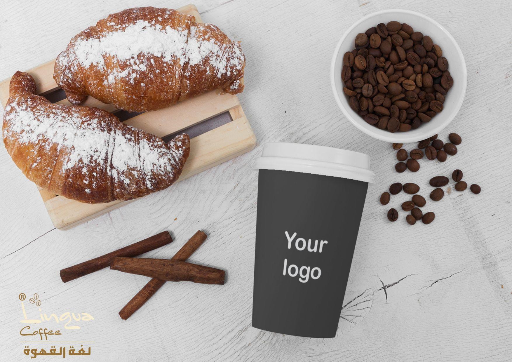 تصميم أكواب قهوة