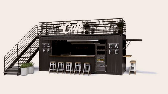 container cafe2